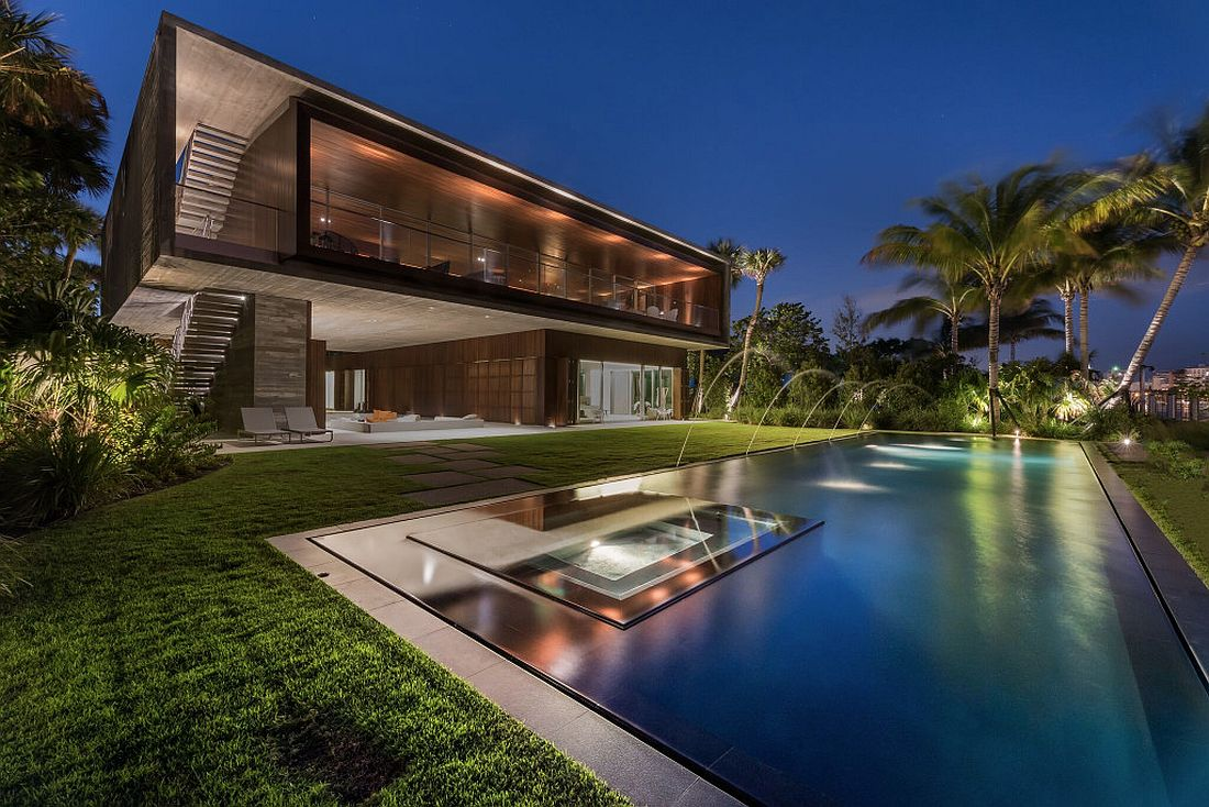 Luxury Miami Beach House with Man-Made Lagoon Could Be Yours for ...