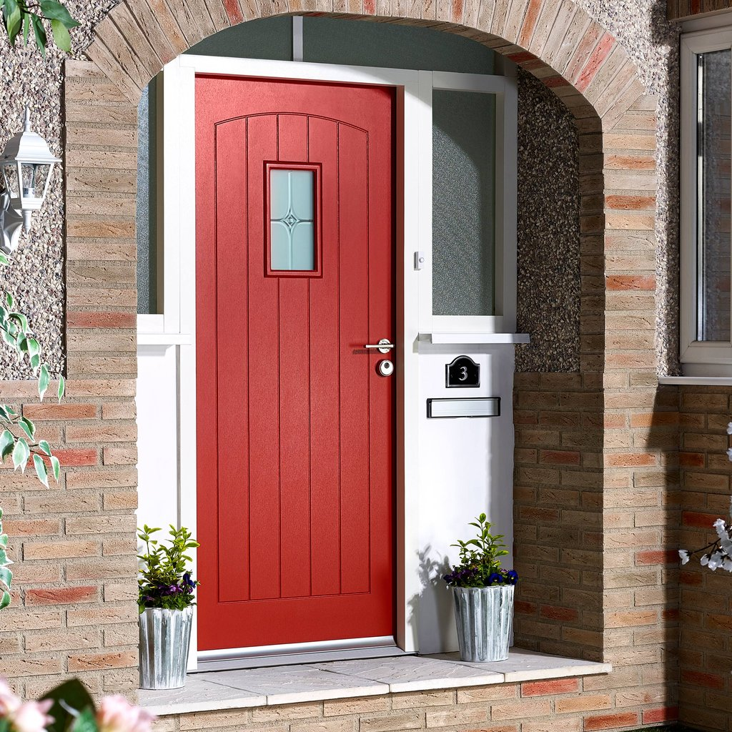 Modern Red Front Door: Creating A Charming Entryway With Red Front Doors