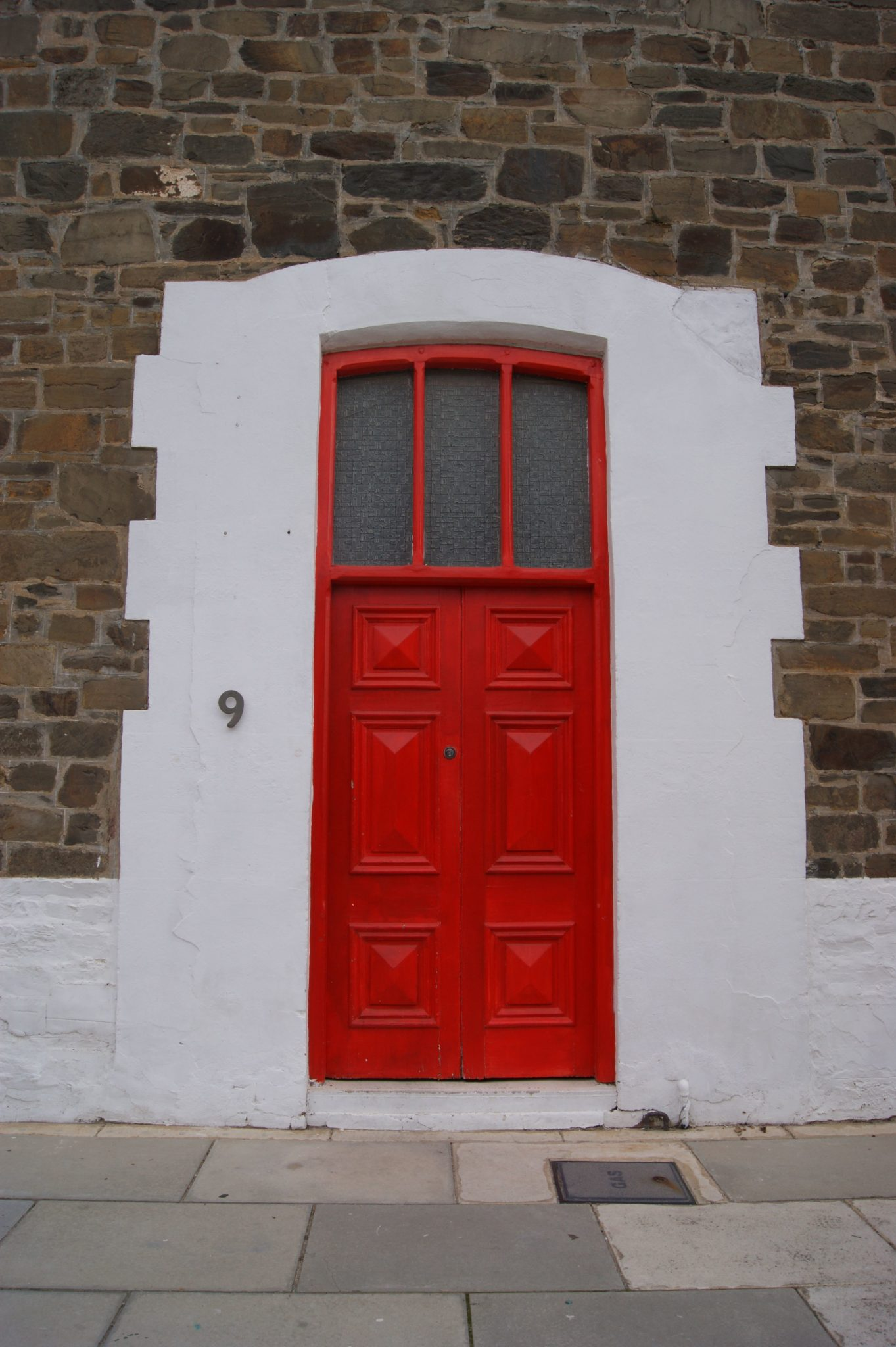 Creating a charming entryway with red front doors for The door the door
