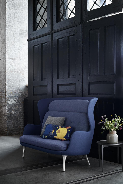 Ro Sofa Blue