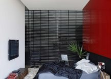 Snazzy-bedroom-in-black-white-and-red-217x155