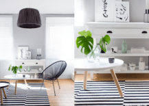 Striped-monochrome-rug-in-a-minimalist-living-room-217x155