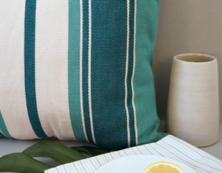 Stripes and Woven Decor: Summer-Perfect Style