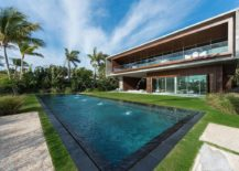 Stunning garden and pool area bring luxury to the lavish Indian Creek Home 217x155 Luxury Miami Beach House with Man Made Lagoon Could Be Yours for $29.75M!