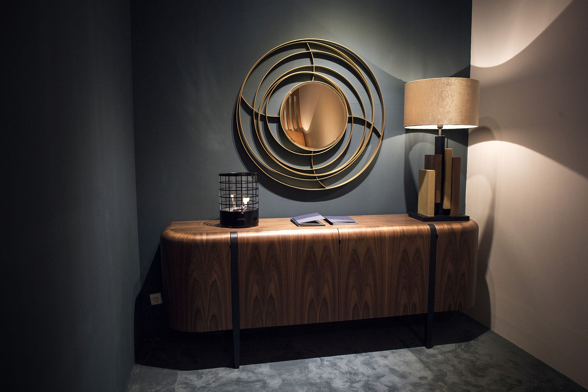 Stunning wooden sideboard by Portuguese decor maker Paulo Antunes