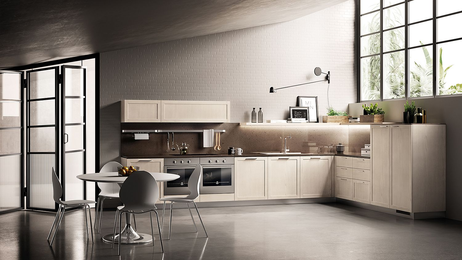 Classic Contemporary Kitchen carattere: classical-contemporary kitchen blends sophistication