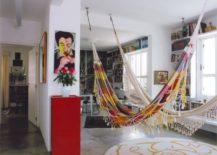 Two-bohemian-hammocks-in-a-big-living-room--217x155