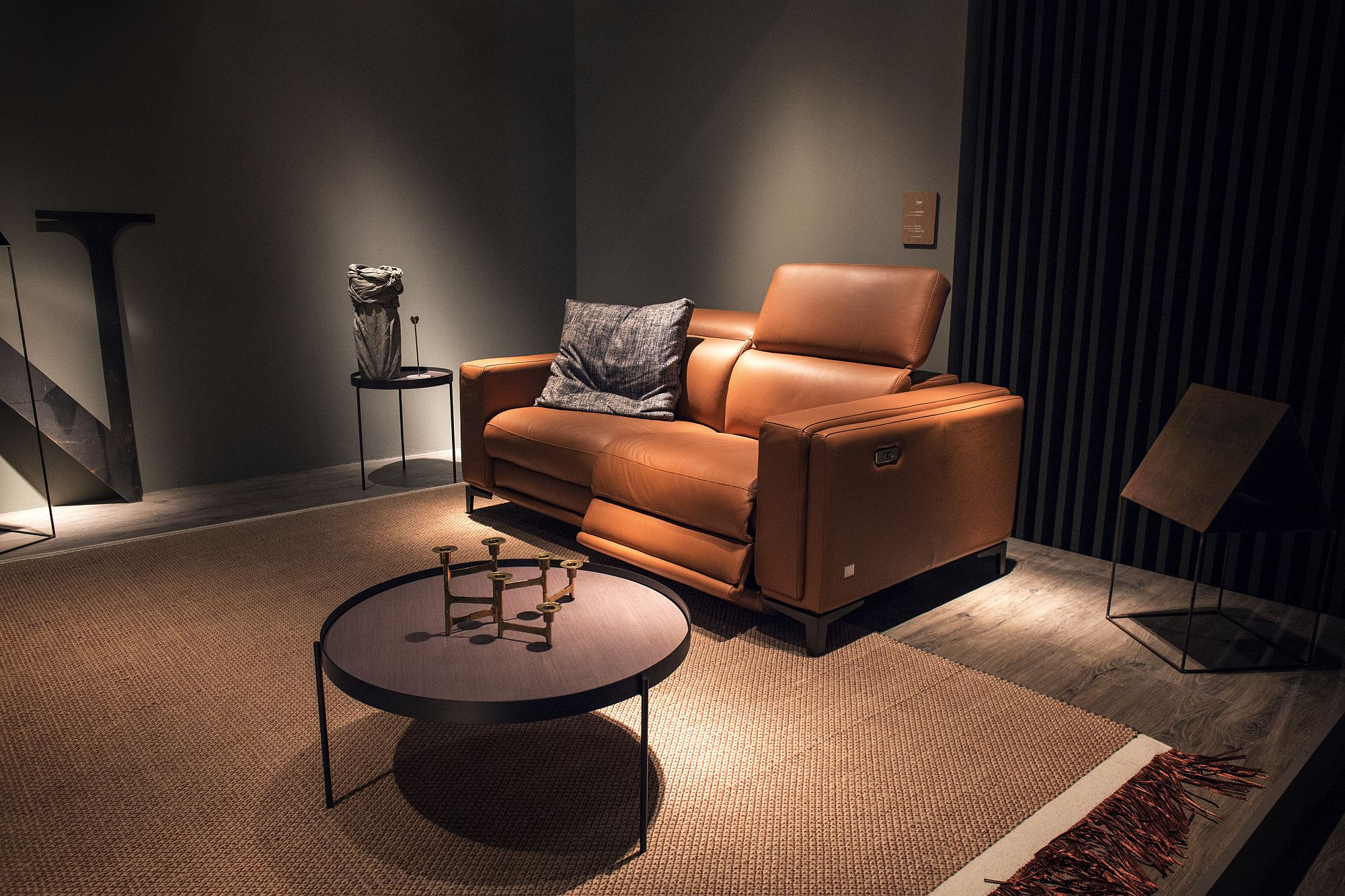 Ultra-comfy-sofa-from-Gruppo-Doimo-with-a-hint-of-orange-zest
