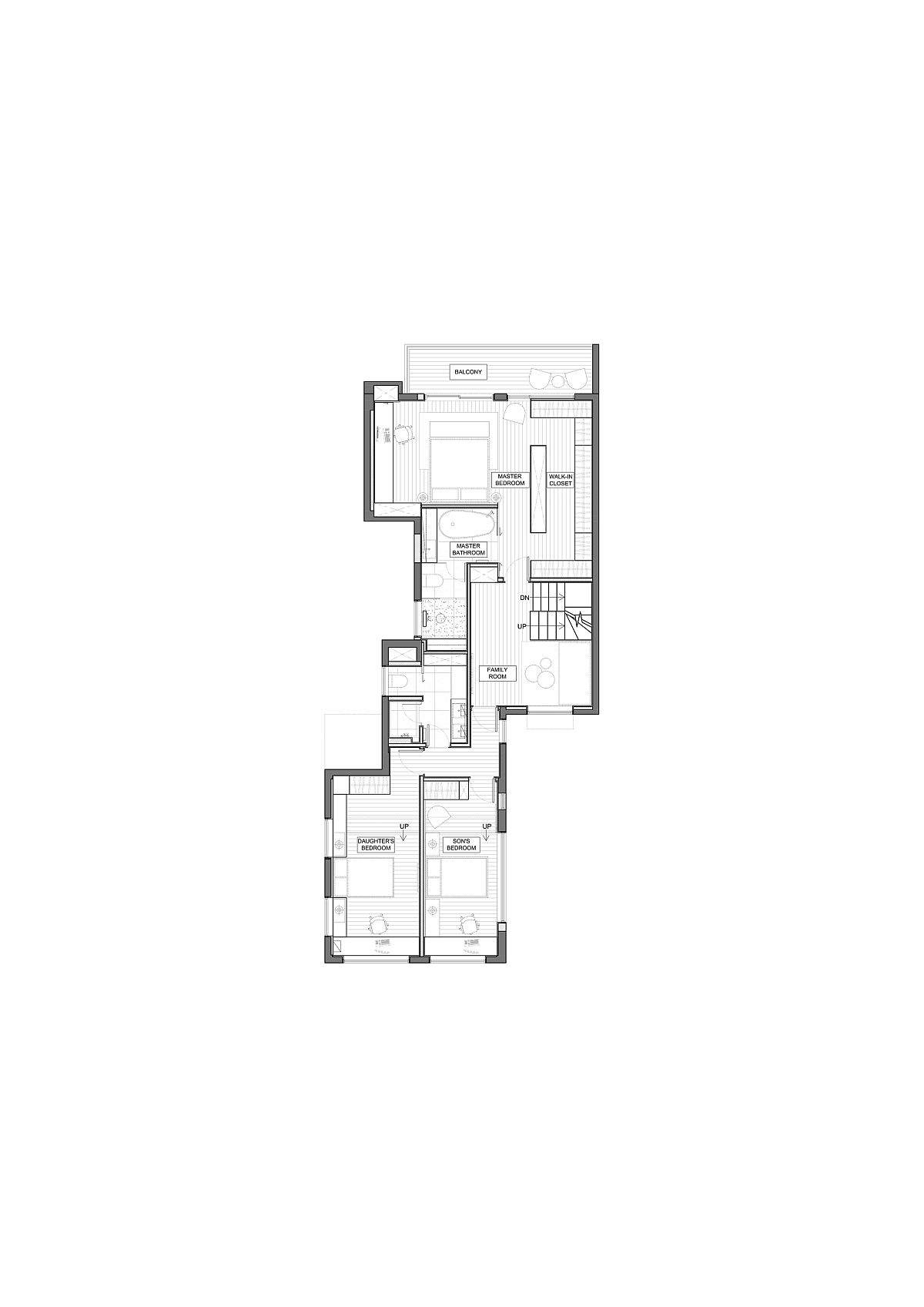 Upper-level-floor-plan-with-kids-and-master-bedroom