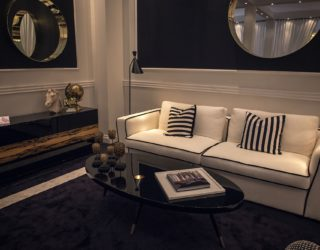 Shopping Smart: Modern Sofas in Black, White and a Blend of the Two!