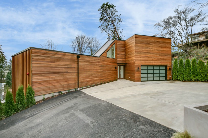 30 Homes That Show Off Their Top Notch Modern Driveway