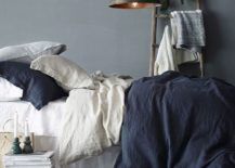 A-touch-of-trendy-shabby-chic-for-the-small-bedroom-in-blue-and-gray-217x155