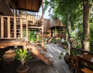 Thai Home is a Relaxing Abode Covered by Forest Canopy
