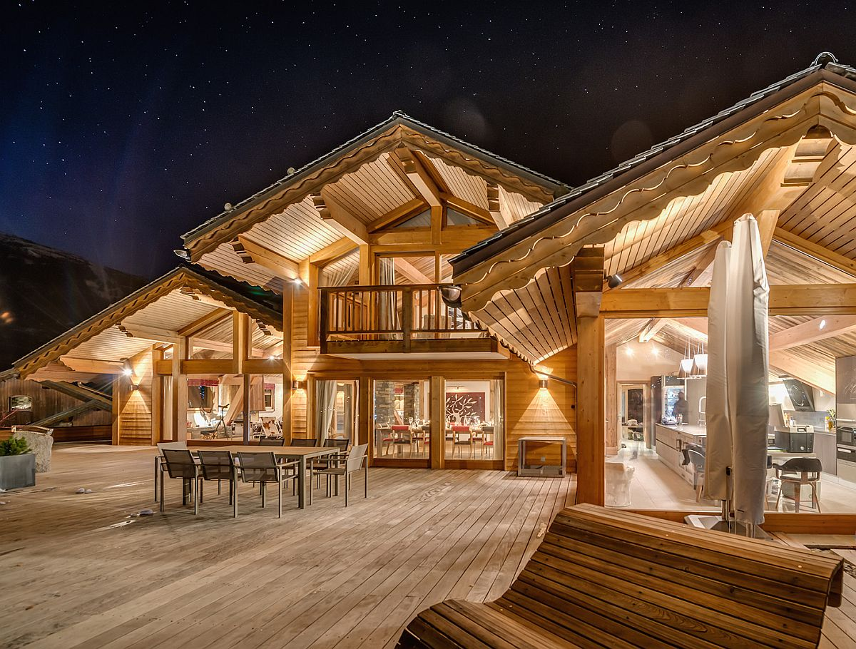 France s best luxury ski chalet promises an unforgettable for French chalet house plans