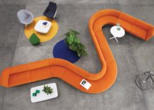 April sofa system 217x155 Four New Office Savvy Product Collections from British Brand Modus