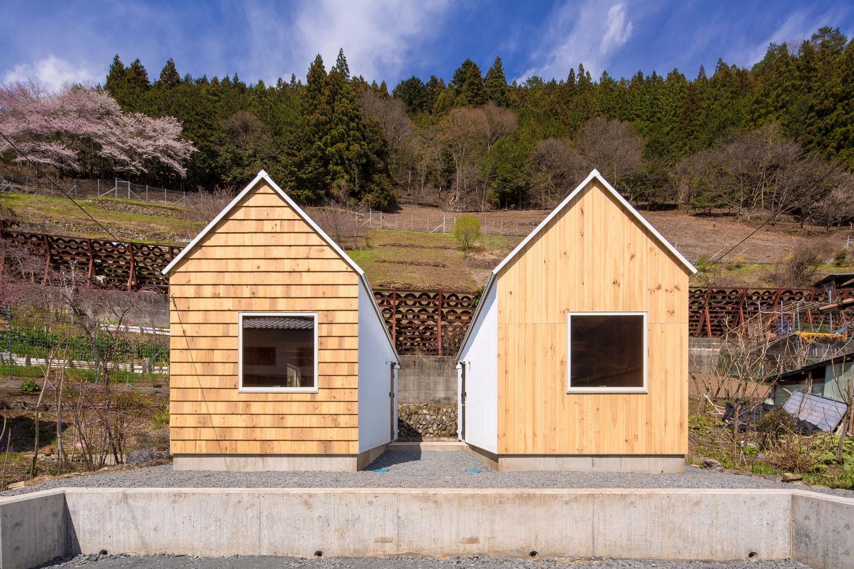 Cedar house and pine house