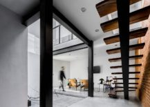 Central-courtyard-of-lower-level-in-Mexican-home-with-an-open-plan-living-217x155