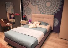Chic-girls-bedroom-with-plenty-of-pattern-and-bright-color-217x155