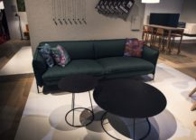 Combine smaller side tables and coffee tables to create a unique focal point in the living room 217x155 Dark Magic: 20 Dashing Coffee Tables in Black