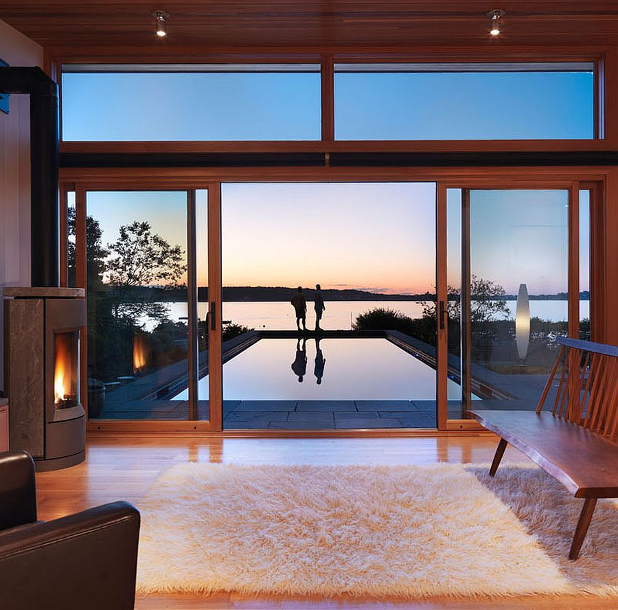 Contemporary guest house with ocean view in Gloucester