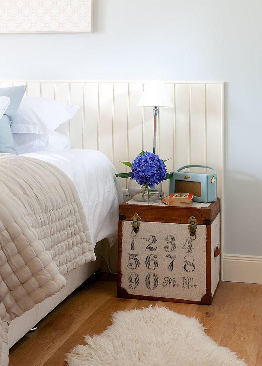 DIY bedside table brings a hint of vintage charm to the bedroom Unboxing Goodness: 20 Box Style Bedside Tables and Nightstands