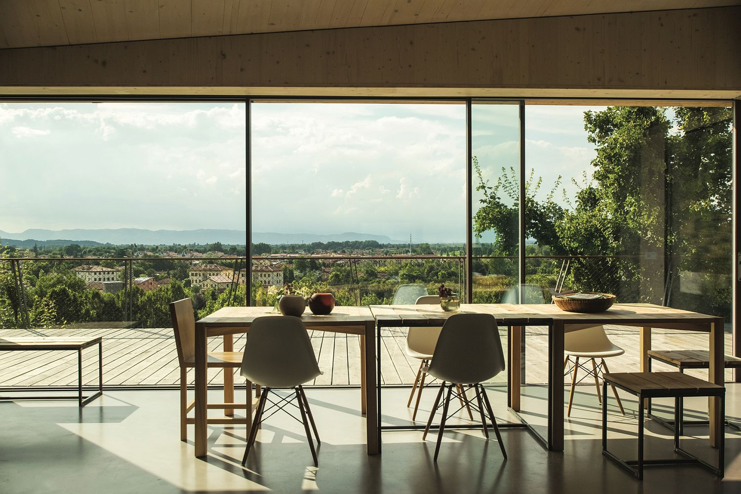 Dining area with a view of Veneto
