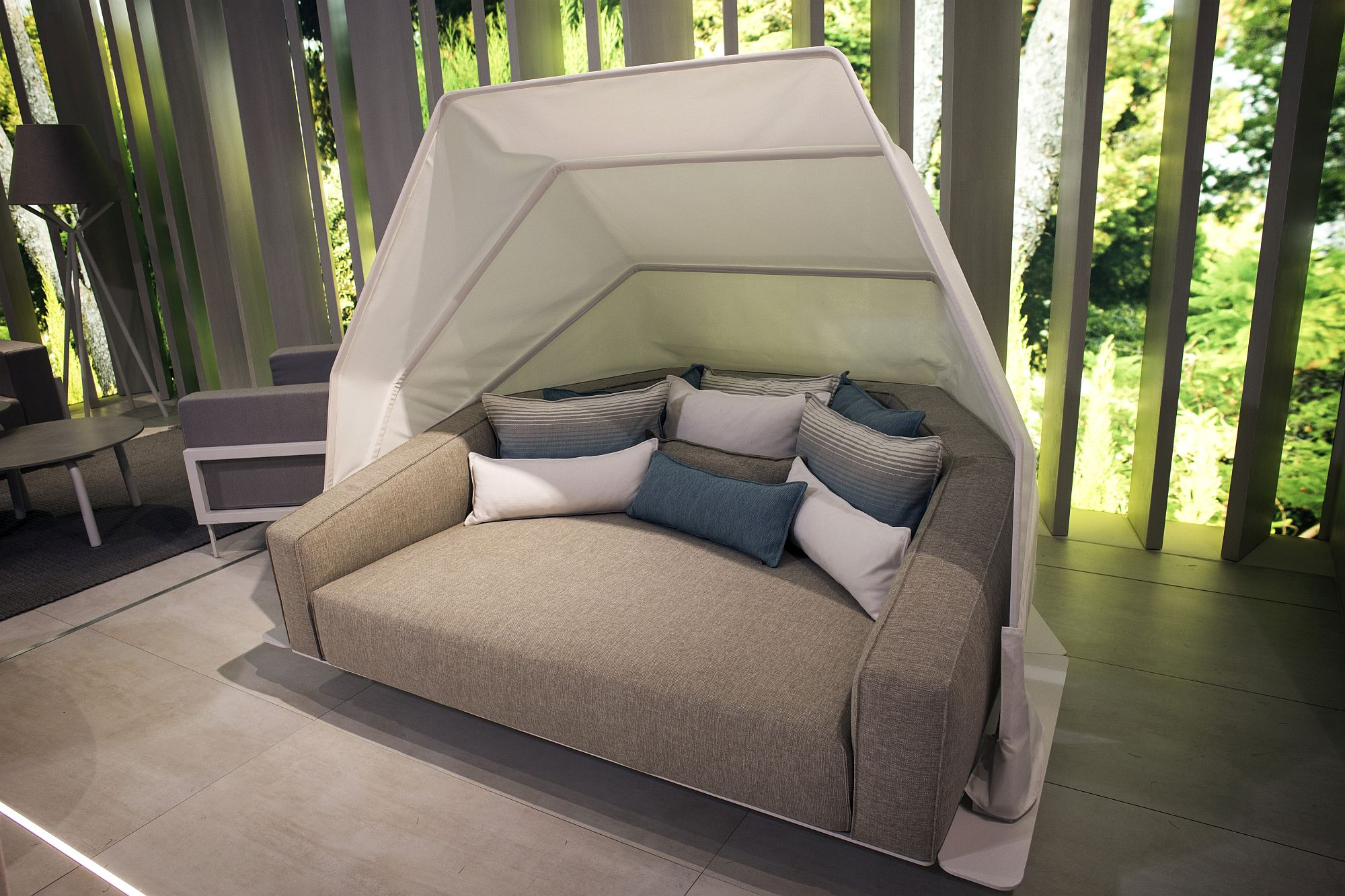 Eden Collection daybed and sofa from Talenti