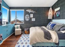 Exquisite-tropical-style-bedroom-in-vivacious-blue-and-stoic-gray-217x155