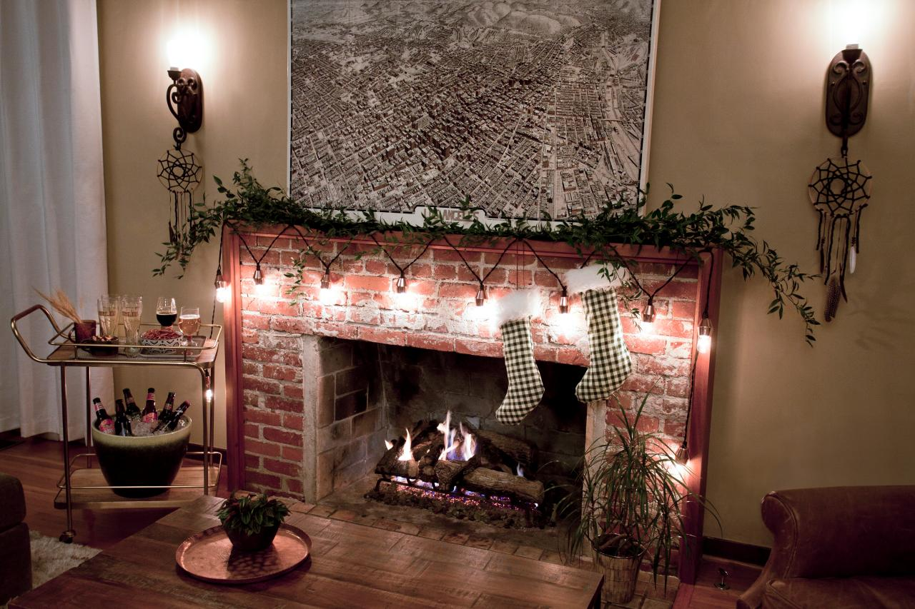 String Lights For Fireplace : 30 Ways to Create a Romantic Ambiance with String Lights