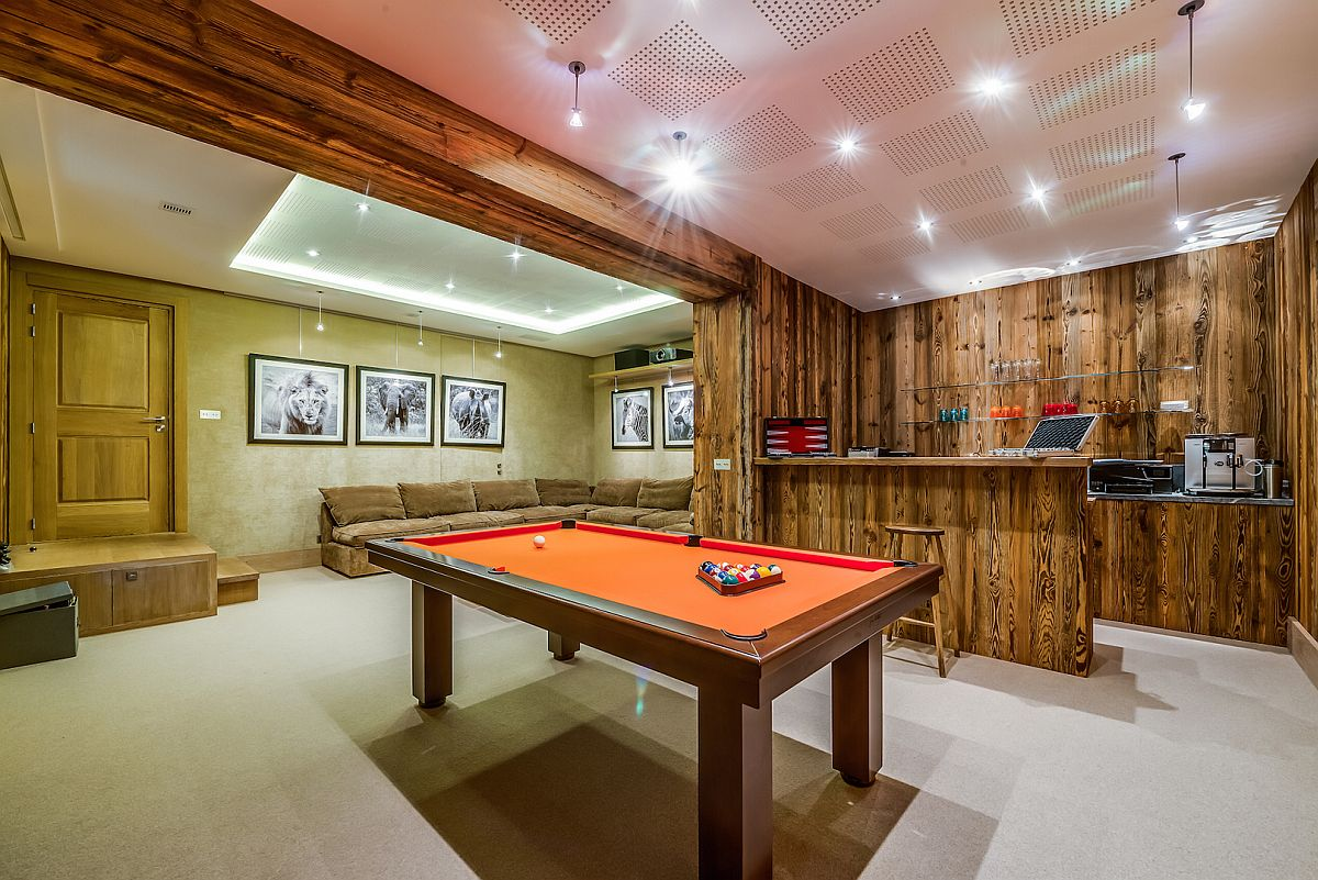 France s best luxury ski chalet promises an unforgettable for Home bar game room