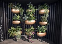 Green Pills vertical planter system from Serralunga 217x155 Tranquility Wrapped in Luxury: 25 Trendy Outdoor Décor Finds