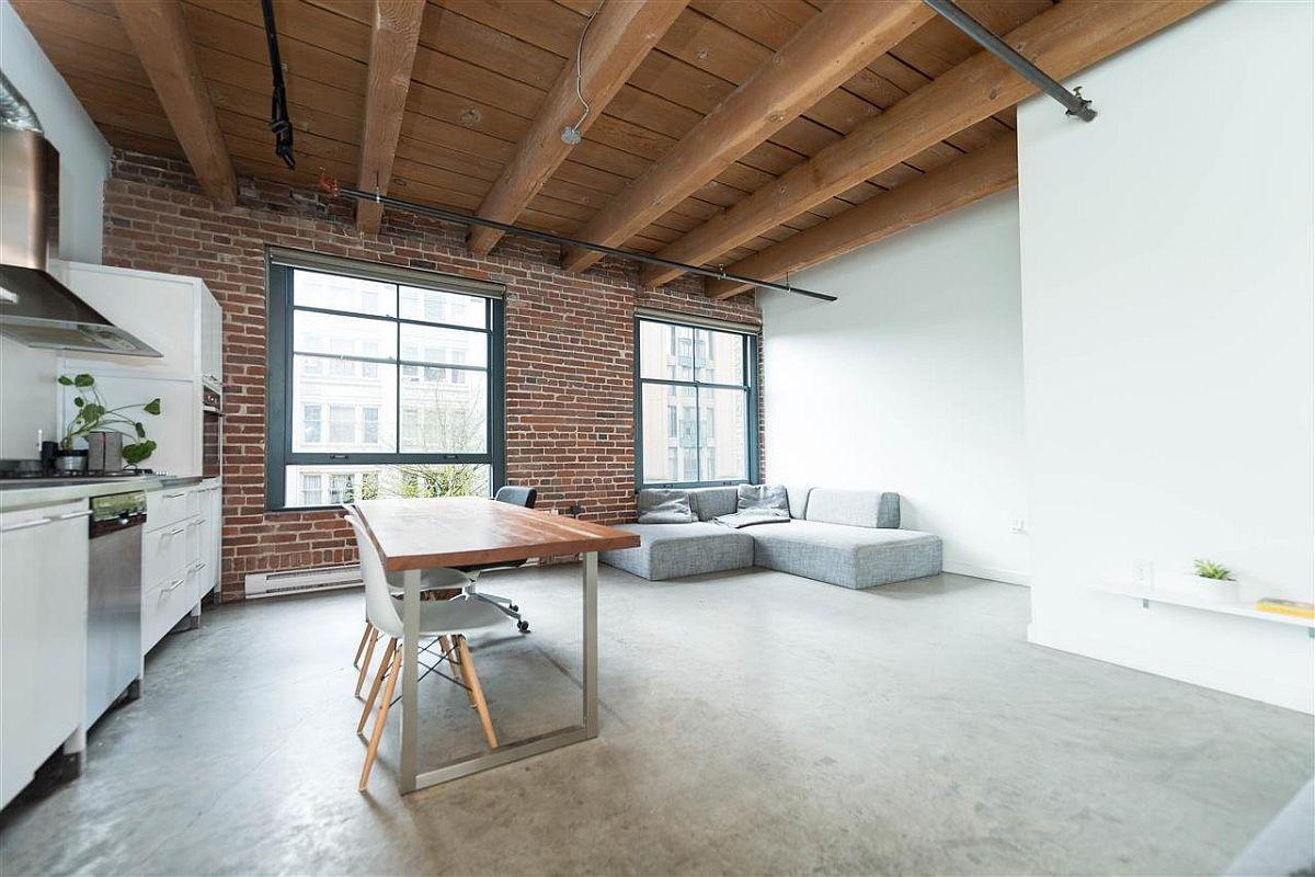 Industrial modern East Cordova Street apartment