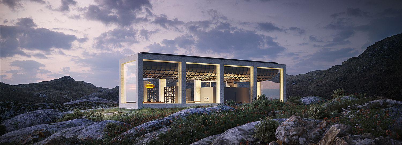 Infinity House by Vladimir Konovalov in Northern Norway