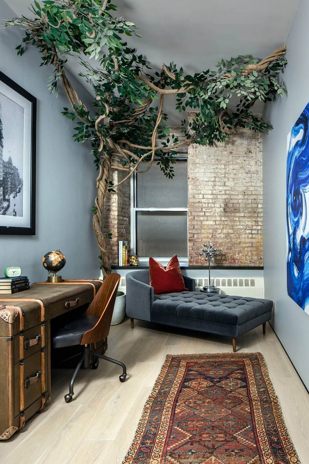 Modern Eclectic Finds An Industrial Home In The Heart Of