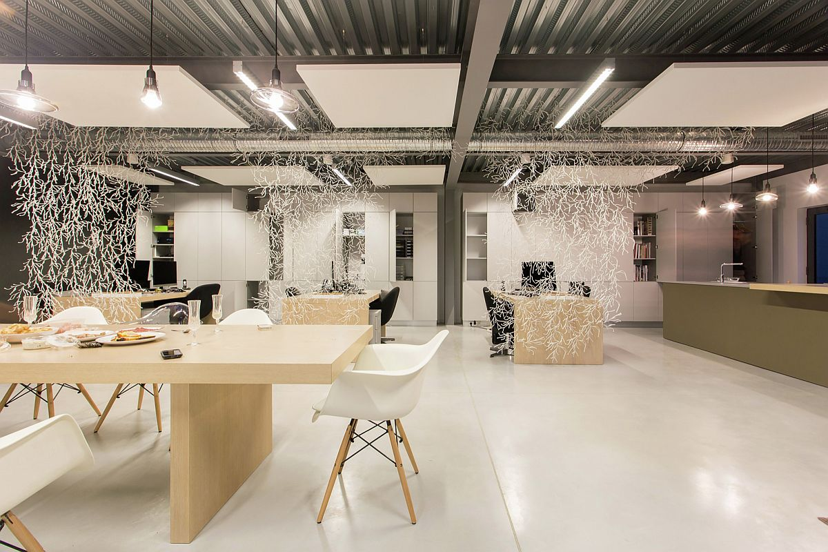 Innovative partitions bring whimsical charm to the office