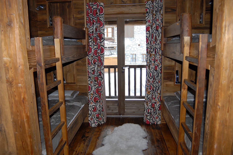 Kids' room with bunk beds