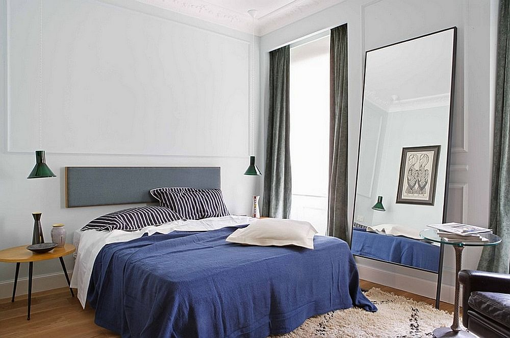 gray and blue bedroom ideas 15 bright and trendy designs 15481 | light gray replaces white in this masculine bedroom with hints of blue