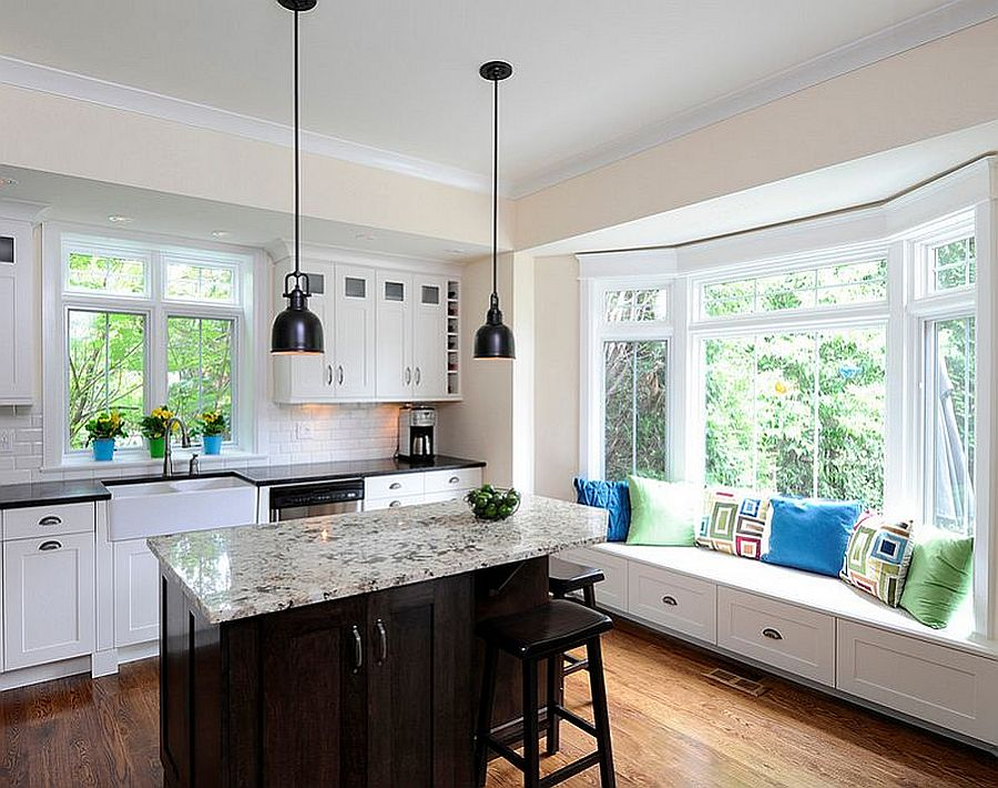 Fantastic Kitchens With Window Seats 10 Trendy Ideas For A Cozier Home Uwap Interior Chair Design Uwaporg