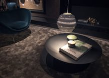 Minimal and round coffee table in black 217x155 Dark Magic: 20 Dashing Coffee Tables in Black