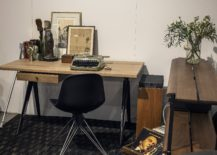 Modern industrial desk for the small home office 217x155 Space Savvy Workspaces: Finding the Right Desk for Your Small Home Office