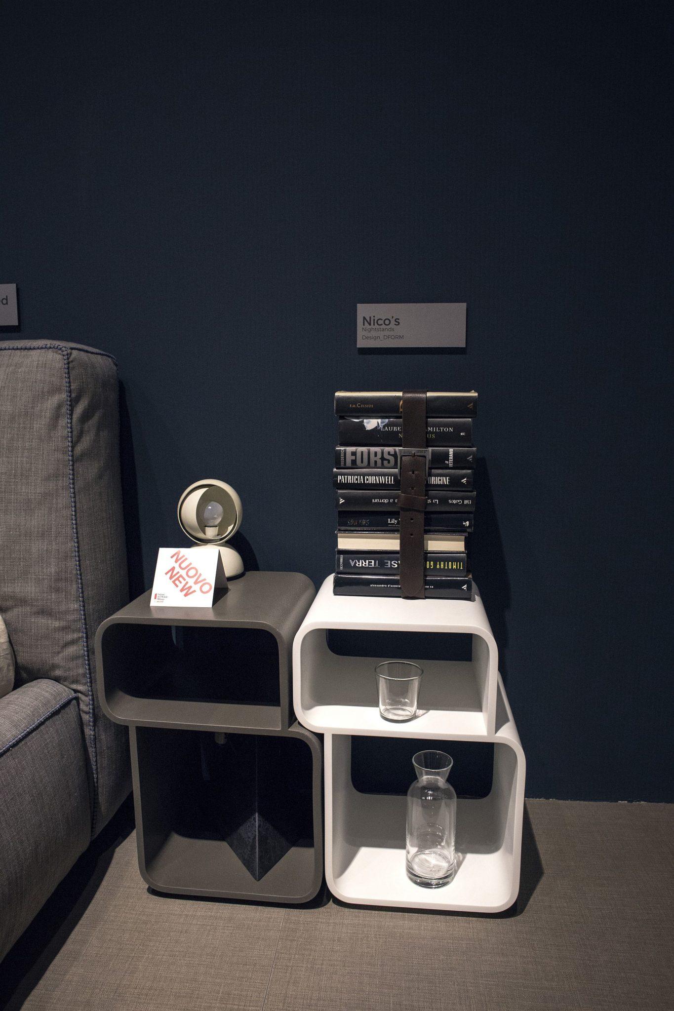 Modular nightstand for the minimal, modern bedroom