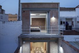 Old Blacksmith Workshop in Barcelona Transformed into a Light-Filled Home