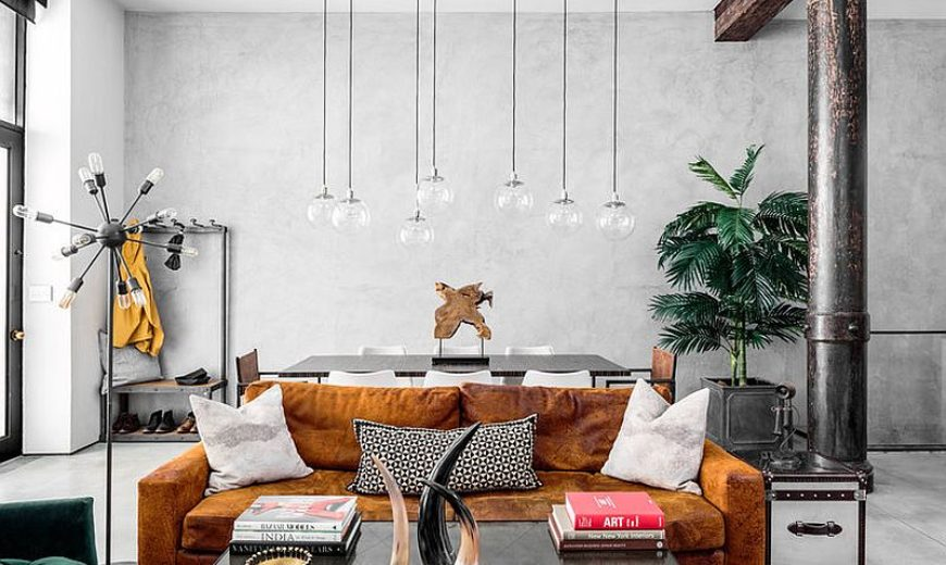 Modern Eclectic Finds an Industrial Home in the Heart of New York City!