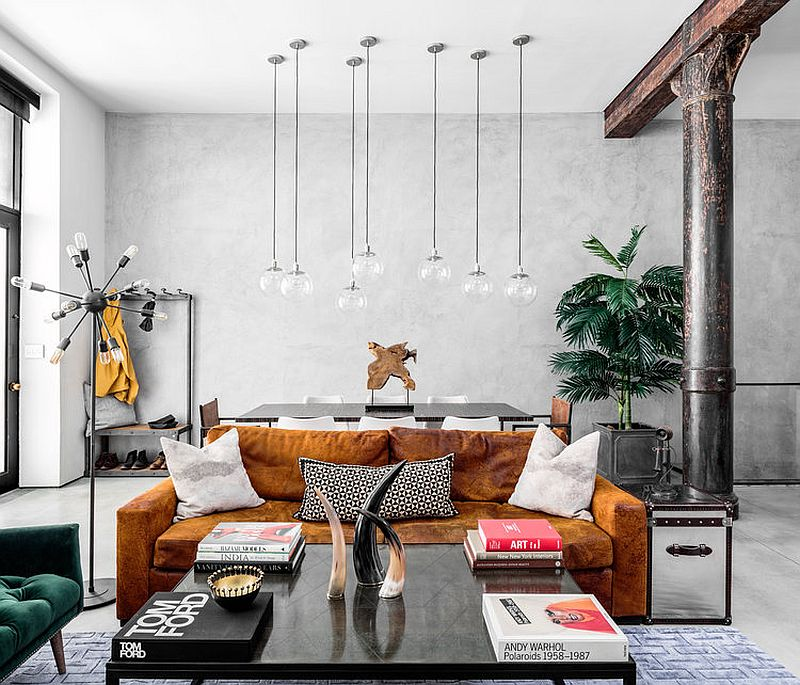 Modern eclectic finds an industrial home in the heart of new york city - What is contemporary style ...