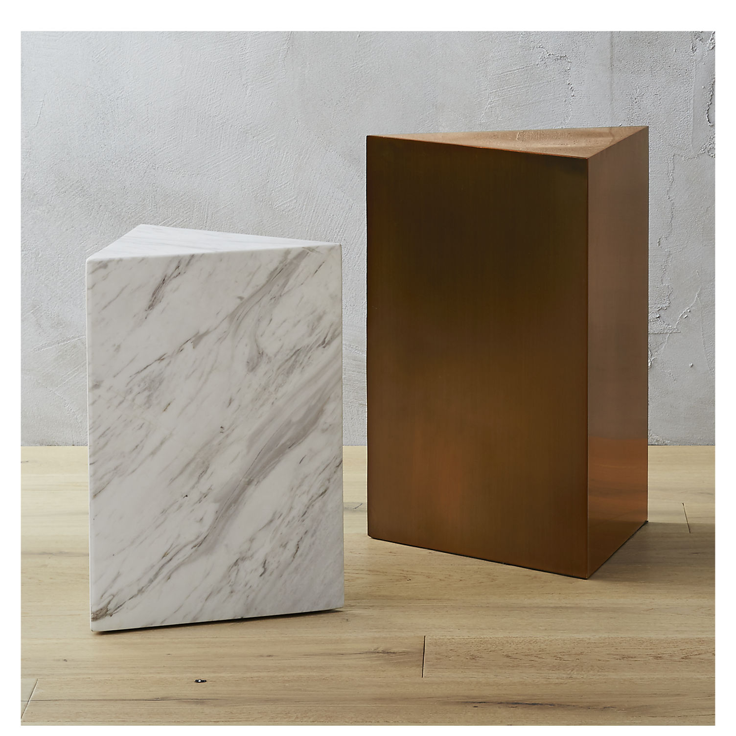 Side tables from CB2