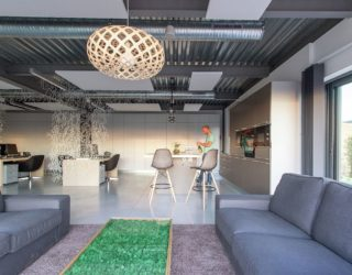 An Inviting Office Environment: Innovative Meamea Headquarters in France