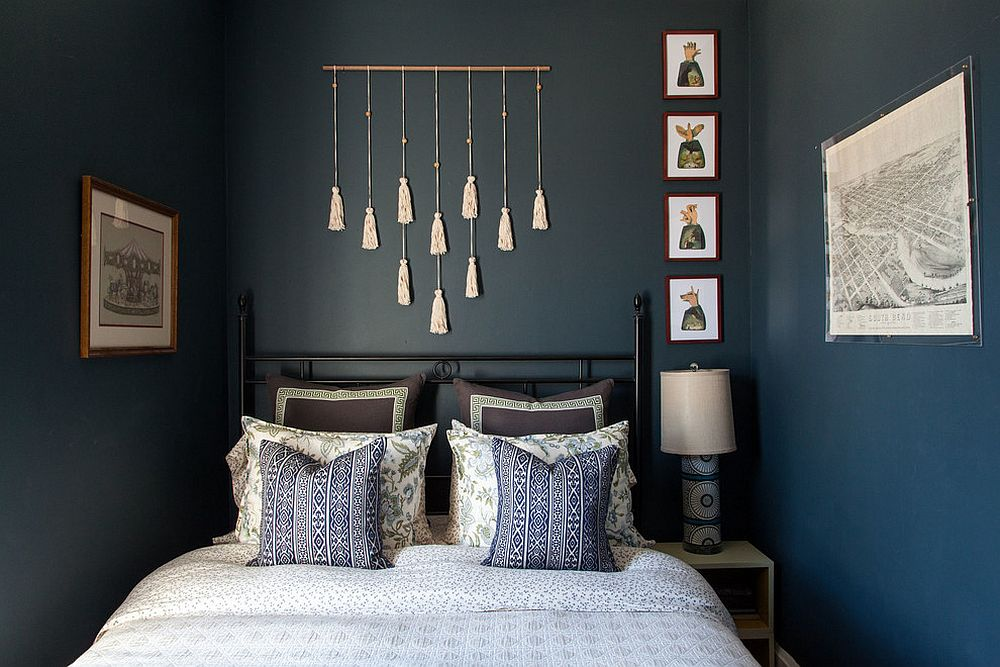 Awesome Blue Gray Bedrooms Part - 7: ... Gray To This Blue Bedroom View In Gallery ...