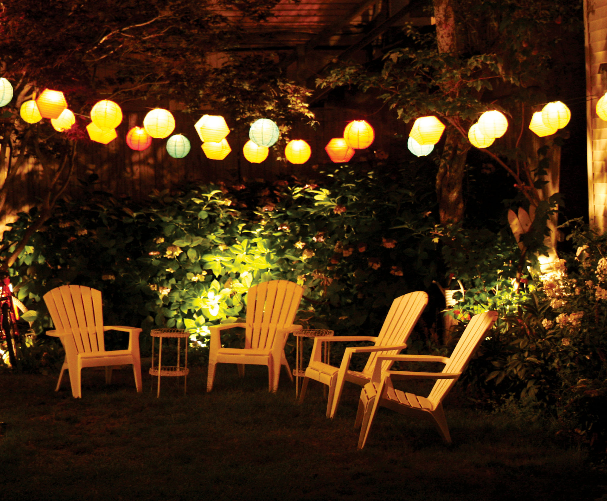 String lights that capture the attention