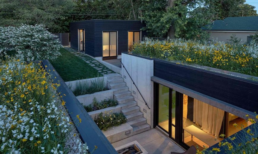 Concealed in a Shroud of Green: Steeping into the Shelton Marshall Residence!