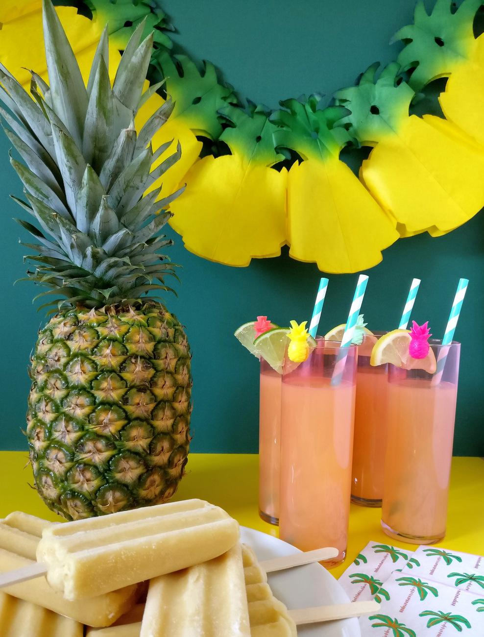 Tropical party decor made easy for Tropical decor